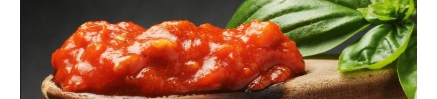 Acquista online le salse ed i sughi della linea Terra d'amare. Salsa di noci, sughi basilico, sughi olive taggiasche